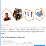 Fit4Skool Android app Challenge Zone