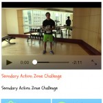 Fit4Skool iOS app Body Action Workout